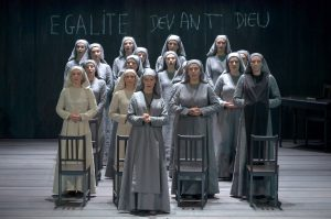 Acte II, Tableau 2 : Sophie Koch (Mère Marie), Véronique Gens (Madame Lidoine)
