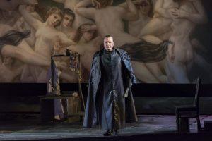 Acte I : Ludovic Tézier (Scarpia)