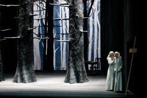 Acte II, Interlude : Sandrine Piau (Constance), Patricia Petibon (Blanche)