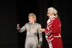Acte I : Stéphanie d'Oustrac (L'Aiglon), Marc Barrard (Flambeau)