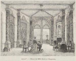 Acte I : Le château du marquis de Cinq-Mars