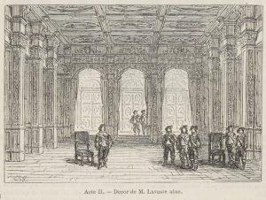 Acte II, Premier Tableau : Les appartements du roi