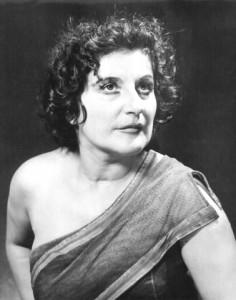 Christel Goltz : la Teinturière en 1955