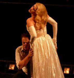 Acte IV : Stefano Secco (Hoffmann), Kate Aldrich (Giulietta)