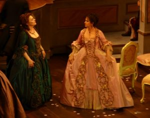 Acte II : Marcelo Alvarez (Maurizio), Angela Gheorghiu (Adriana Lecouvreur)