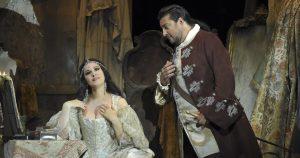 Acte I : Angela Gheorghiu (Adriana Lecouvreur), Marcelo Alvarez (Maurizio)