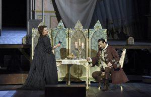 Acte II : Luciana D'intino (La Principessa di Bouillon), Marcello Alvarez (Maurizio)