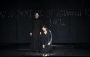 Acte I : Véronique Gens (Alceste), Stéphane Degout (Le Grand-Prêtre d'Apollon)
