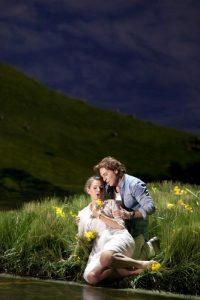 Acte I, Tableau 2 : Sophie Koch (Genièvre), Roberto Alagna (Lancelot)