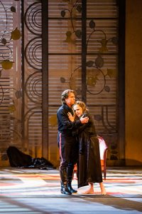 Acte III, Tableau 5 : Sonia Ganassi (Chimène), Roberto Alagna (Rodrigue)