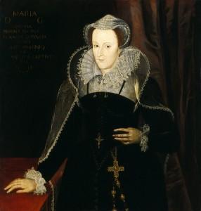Marie Stuart durant l'exile en Angleterre (anonyme d'après Nicholas Hilliard)