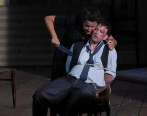 Acte II : Cecilia Bartoli (Norma), Norman Reinhardt (Pollione)