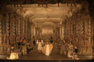 Acte III, Scène 3 : Eva Liebau (Euridice), Regula Mühlemann (Amore)